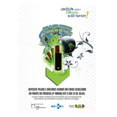 Anúncio reciclagem