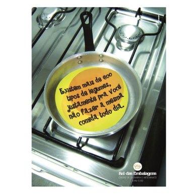 Anúncio cursos de culinária