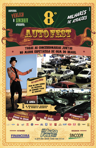 Anúncio Autofest
