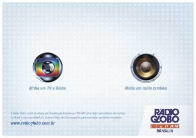 Anúncio Rádio Globo